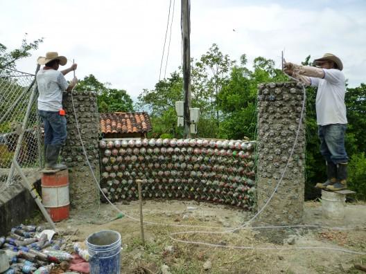 Eco construcciones una forma sustentable de construir - Trabajos artesanales para hacer en casa ...